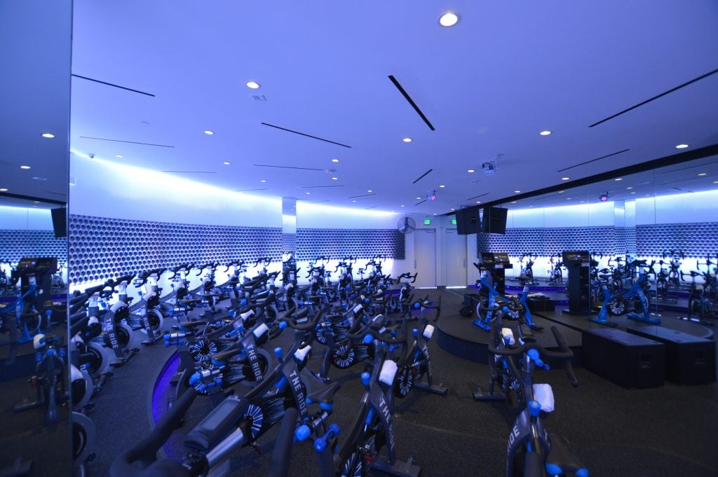 the RIDE Summerlin Cycling Studio