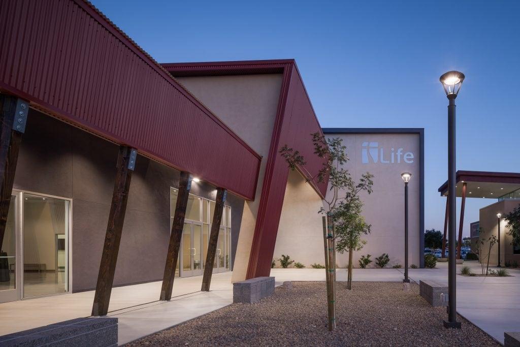 Life Baptist Courtyard