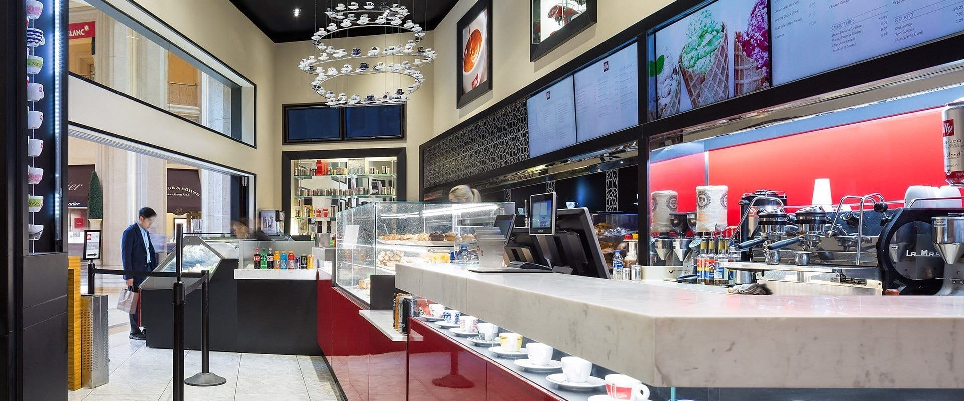 Illy Cafe Architecture Photo