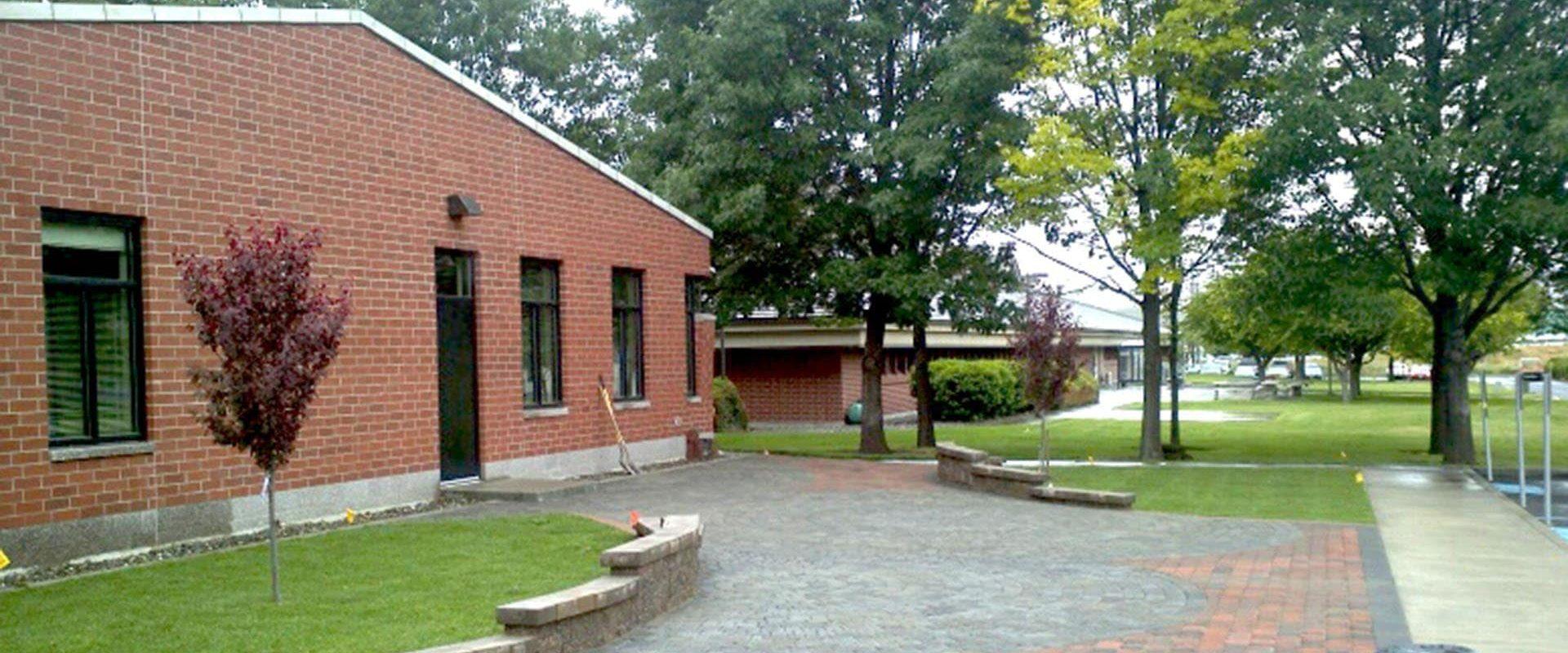 Walla Walla Community College Clarkston Nursing Expansion Patio 2